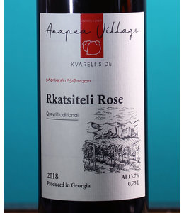 Anapea Village, Rkatsiteli Rose Qvevri Traditional 2018