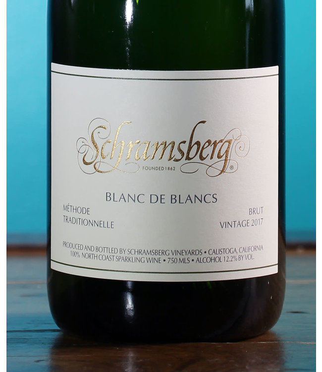 Schramsberg Vineyards, Brut Blanc de Blancs North Coast 2017