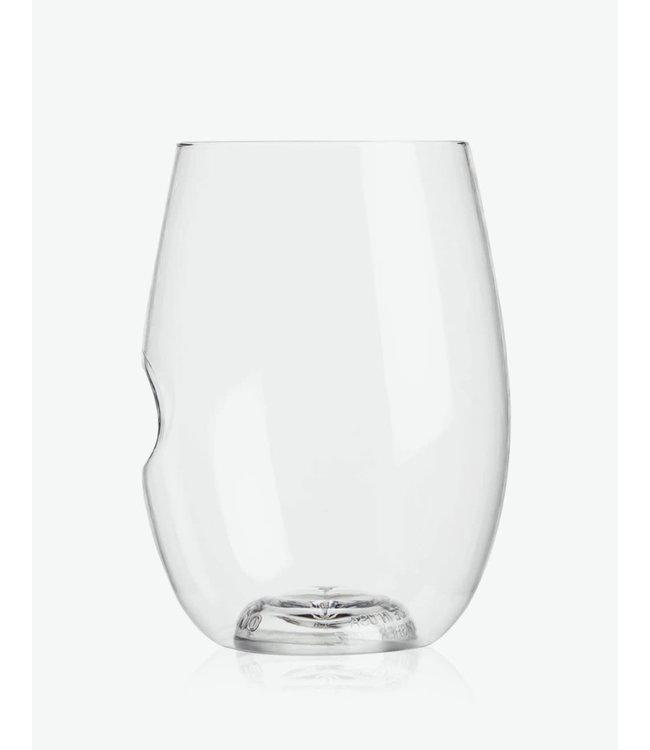 GoVino Dishwasher Safe Flexible Wine Tumblers 16 oz (4-pack)