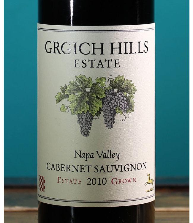 Grgich Hills Estate, Cabernet Sauvignon Estate Grown Napa Valley 2010