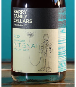 Barry Family Cellars, Léon Millot Pet Gnat Finger Lakes 2020