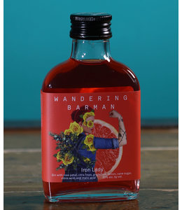Wandering Barman, Iron Lady Handcrafted Cocktail (100 ml bottle)