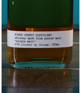 Kings County Distillery, Single Malt Whiskey 200 ml