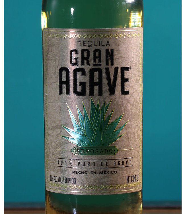 Gran Agave, Reposado Tequila 100% de Agave (1L)
