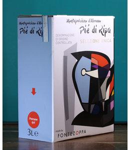 Fontezoppa, Montepulciano d'Abruzzo Pie Di Ripa 2019 (3L Box)