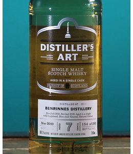 Distiller's Art, 7 Years Old Benrinnes Single Malt Scotch Whisky 112.2 Proof