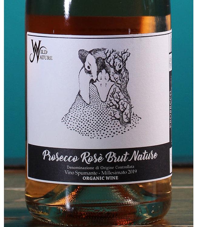 Wild Nature Wines, Prosecco Rosé Brut Nature 2019