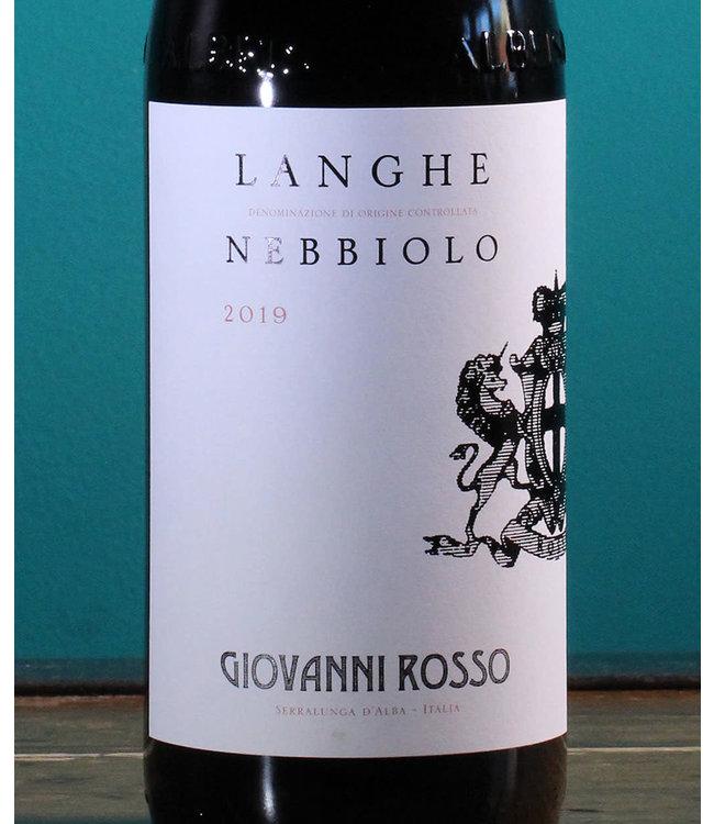 Giovanni Rosso, Langhe Nebbiolo 2019