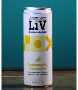LiV Vodka, Southampton Lemonade (355 ml can)