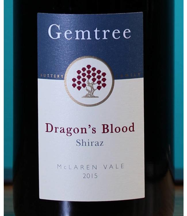 Gemtree, Shiraz Dragon's Blood McLaren Vale (2018)