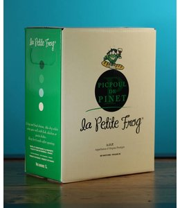 Hugues Beaulieu, Picpoul de Pinet La Petite Frog 2018 (3L bag in box)