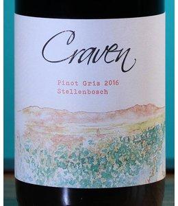 Craven Wines, Stellenbosch Pinot Gris 2018