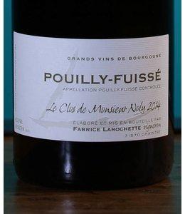 Fabrice Larochette, Pouilly-Fuissé Le Clos de Monsieur Noly 2014
