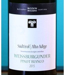CANTINA BOLZANO Südtirol Alto Adige Weissburgunder 2015