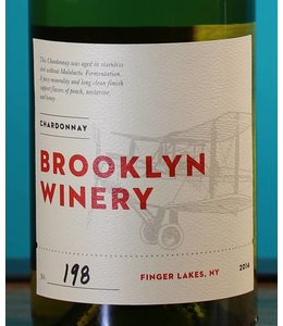 Brooklyn Winery, Finger Lakes Un-Oaked Chardonnay 2016