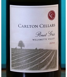 Carlton Cellars, Willamette Valley Pinot Gris 2018