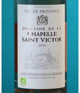 Domaine de la Chapelle Saint Victor, Coteaux d'Aix-en-Provence Rosé 2018