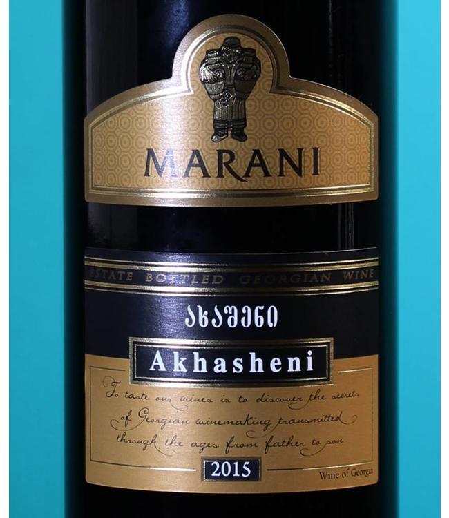 Marani - Akhasheni Semi-Sweet Red, Georgian Wine
