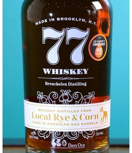 Breuckelen Distilling, 77 Whiskey: Local Rye & Corn