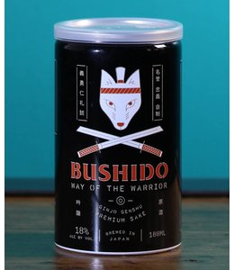 Bushido, Way of the Warrior Ginjo Genshu Sake NV (180ml)