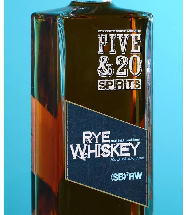 Five & 20 Spirits, Rye Whiskey