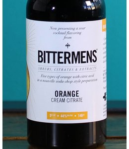 Bittermens, Orange Cream Citrate Bitters