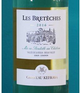 Château Kefraya, Les Breteches White 2016