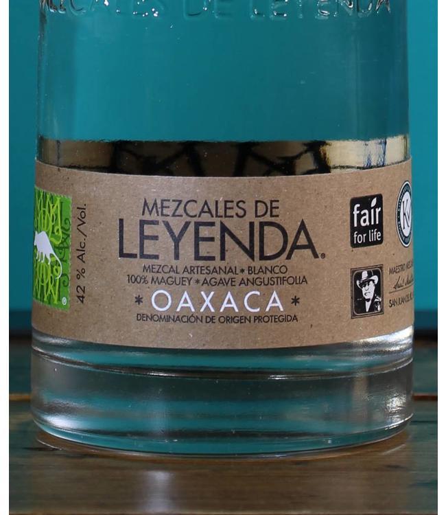 Mezcal de Leyendas, Oaxaca Mezcal