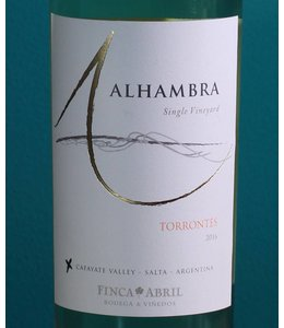 Alhambra, Cafayate Torrontés Single Vineyard 2018