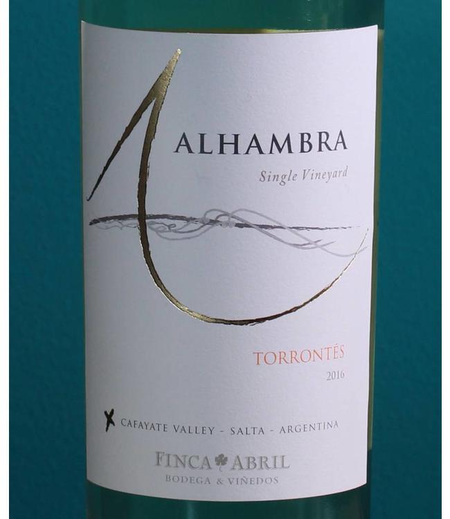 Alhambra, Cafayate Torrontés Single Vineyard 2020