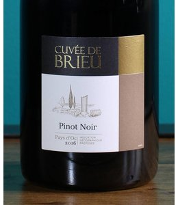 Brieu, cuvée de Brieu Pinot Noir 2016