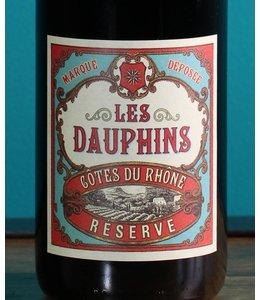 Les Dauphins, Côtes du Rhône Réserve 2019