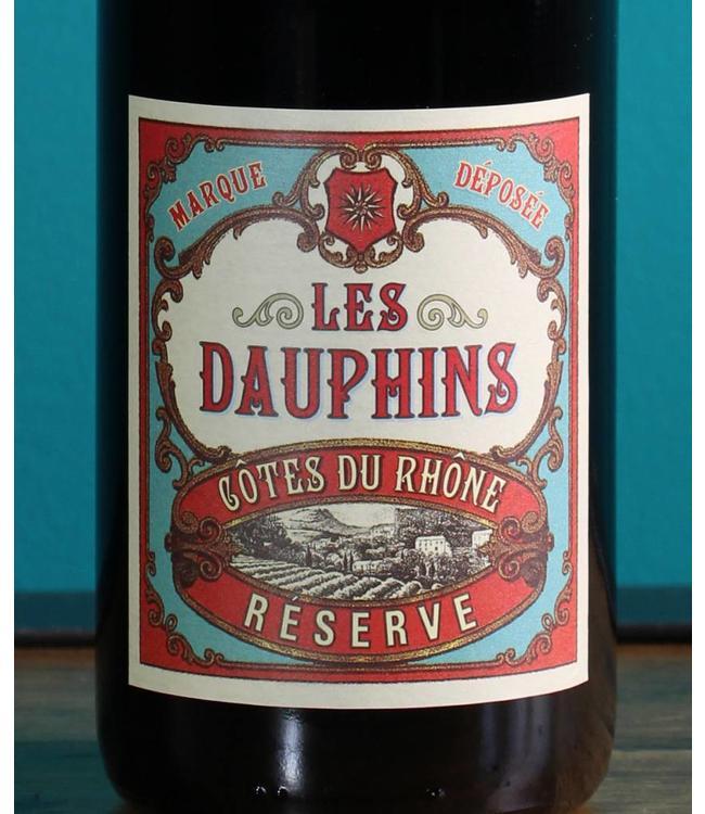 Les Dauphins, Côtes du Rhône Réserve 2018