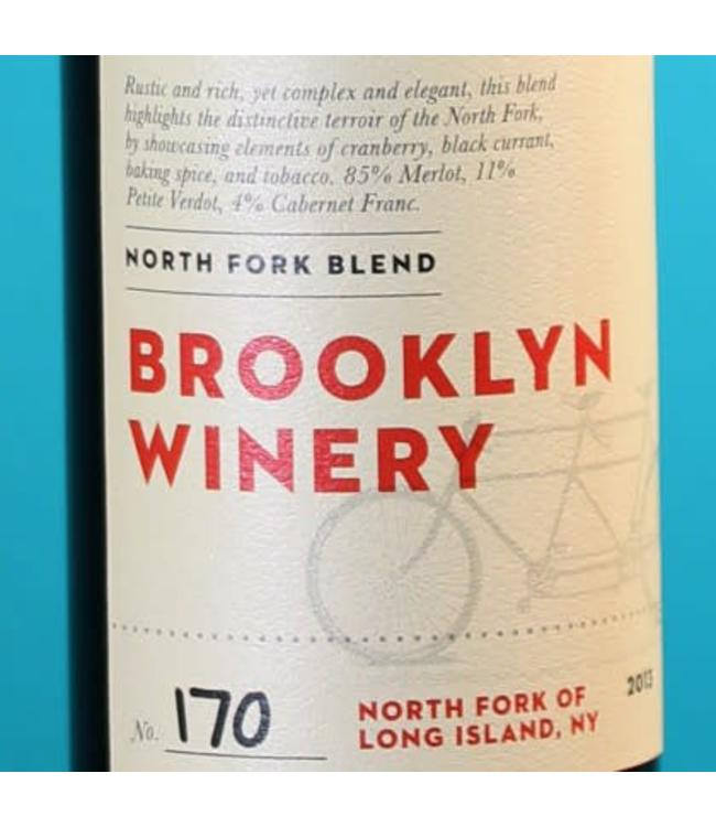 Brooklyn Winery, North Fork of Long Island Blend 2015