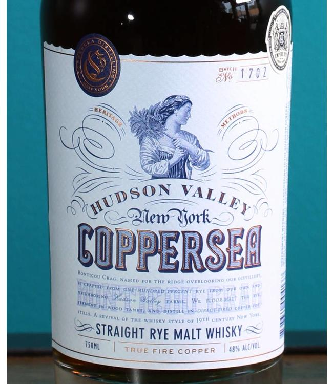 Coppersea, Bonticou Crag Rye Whiskey