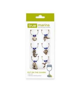 Marina wine charms
