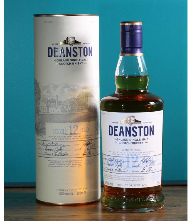 Deanston, 12 Years Old Highland Single Malt Scotch Whisky