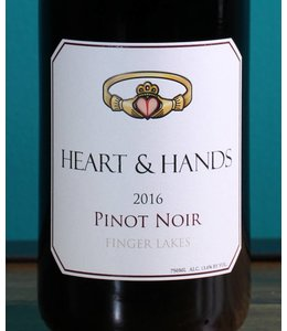 Heart & Hands, Finger Lakes Pinot Noir 2018