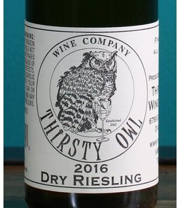 Thirsty Owl Wine Company, Finger Lakes Dry Riesling (375ml)