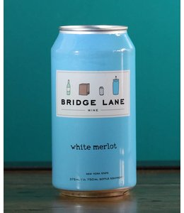 Bridge Lane, White Merlot (NV) 375 mL can