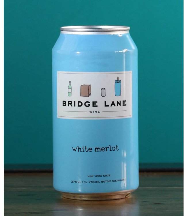 Bridge Lane, White Merlot (375 mL can)