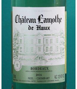 Château Lamothe, Bordeaux Blanc 2018