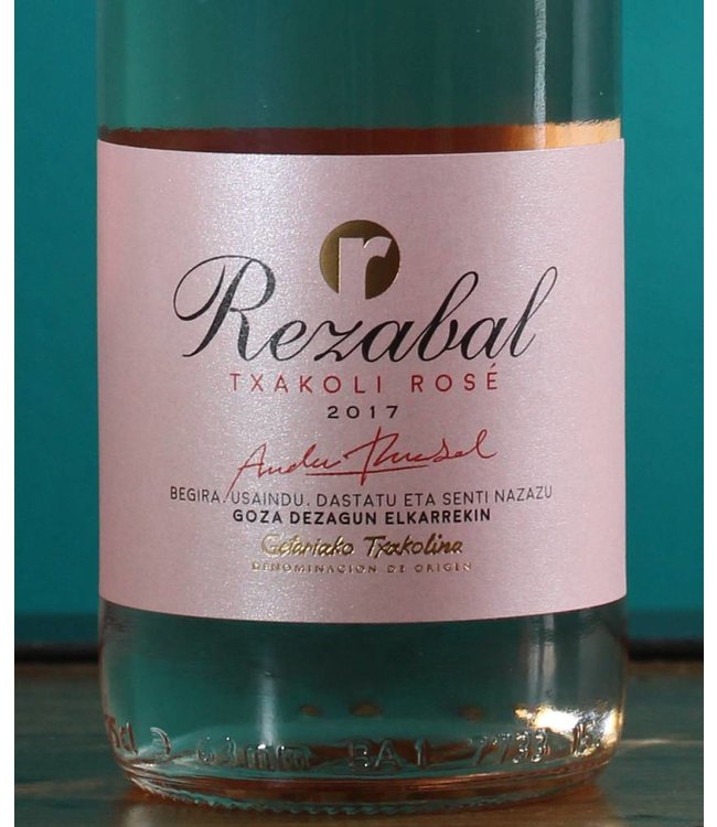 Rezabal Txakoli  Rosé 2018