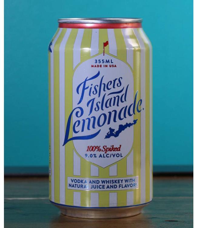 Fishers Island Lemonade, Spiked Lemonade (12 oz can)