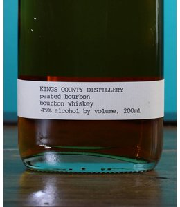 Kings County Distillery, Peated Bourbon Whiskey 200 ml