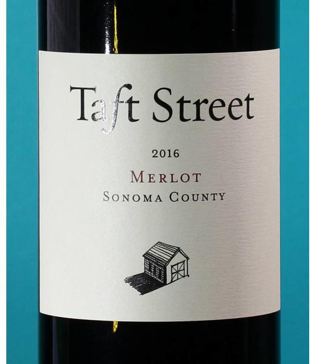 Taft Street Winery, Alexander Valley Merlot 2018