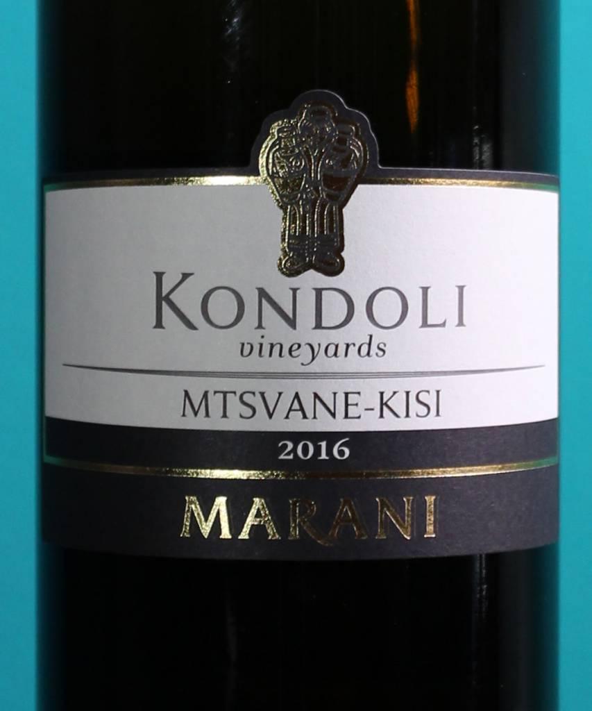 Utrolig Marani Kondoli Mtsvane-Kisi Dry White Georgian Wine - D.Vino BX-98