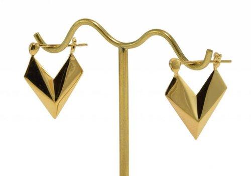 Tawapa Sunken Arrow in Yellow Gold