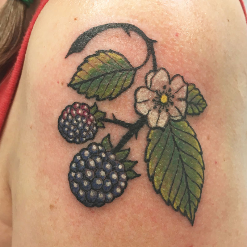 Berry tattoo