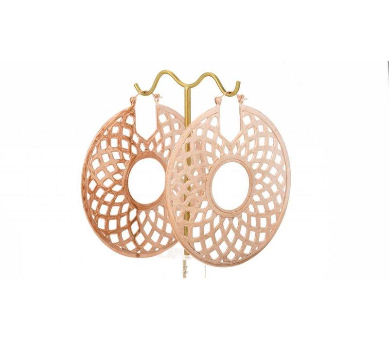 Mandala in Rose Gold